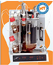A very compact, affordable and robust fermenter systemAutosampler