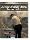 Biological decontamination with hydrogen peroxide vapor