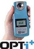 New OPTi+ refractometer provides wide ranging measurement capability