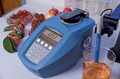 New RFM340+ Refractometer with color coded menu and USB/LAN interfaces